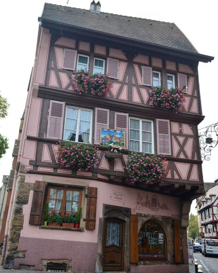 Building Exterior Architecture House Built Structure Window Door Façade No People Outdoors Day Flower Window Box Building Architecture Building Art Colmar Architecture Colmar