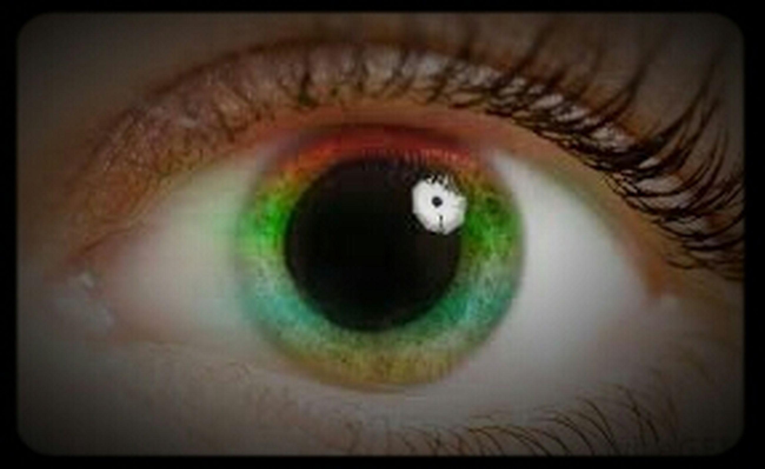human eye, eyelash, close-up, eyesight, sensory perception, indoors, eyeball, part of, extreme close-up, portrait, iris - eye, looking at camera, unrecognizable person, human skin, auto post production filter, extreme close up, reflection