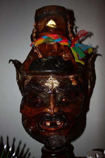 พ่อแก่ เศียรฤษี พ่อแก่ รูปปั้น ศิลปะ Statue Recluse HEAD