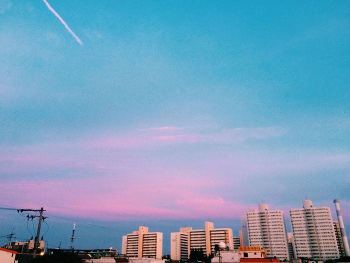 Sunset Sky Today Gwangju IPhoneography