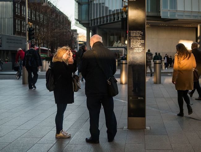 Heads in the light - London, Jan 2018 EyeEmReady EyeEm Best Shots - The Streets City City Life Full Length Store Women City Street Walking