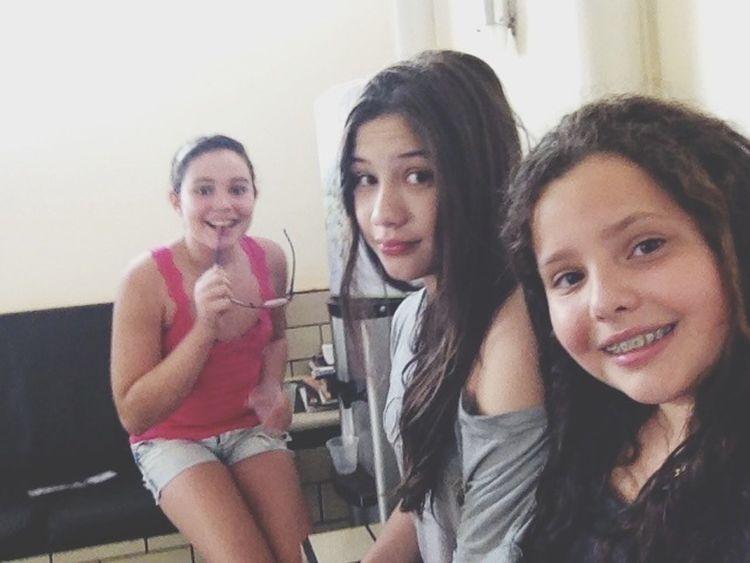 A amizade de voces eu quero para sempre minhas princesas ❤