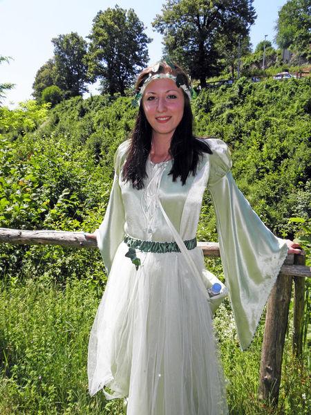 Rastoke, pretty nymph, Croatia, EU Day Elf Eu Girl Hostess Nature Nymph Outdoors Park Portrait Pretty Girl Rastoke, Croatia Tourism