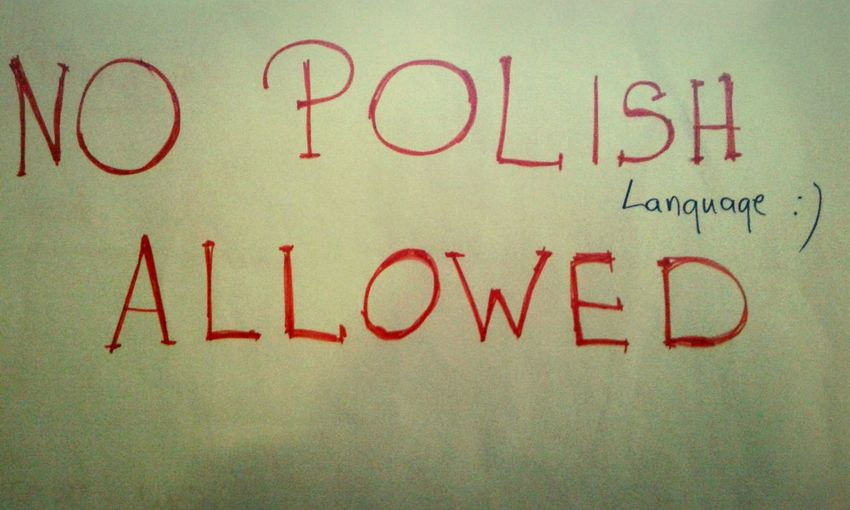 NO POLISH LANGUAGE ALLOWED!!! Lessons With Native Speaker...