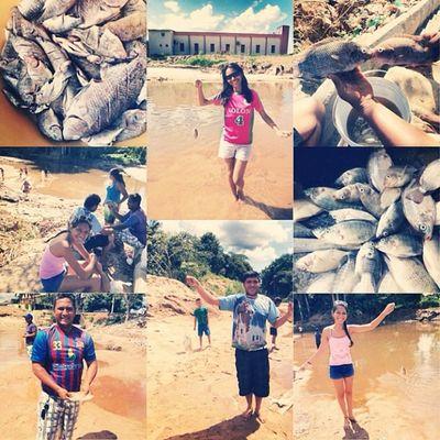 Pescaria com a família na tarde de domingo?❤