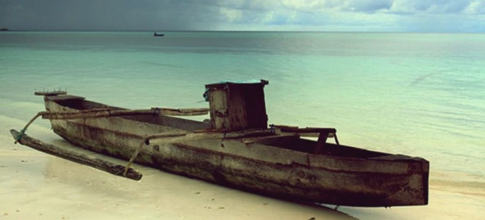 calm before the storm Horizon Over Water INDONESIA No People Scenics Sea Shore Sky Tranquility Trave; Water