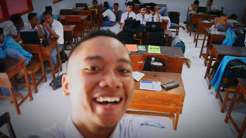This Is My Class, Where Yours ? Class Of 2016 School INDONESIA SmktelkomDU Jombang Santri First Eyeem Photo Hello World Enjoying Life Relaxing Taking Photos Hi! Its Me
