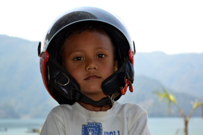 Child Childhood One Boy Only Smiling Happiness Local People Phewa Lake Pokhara!
