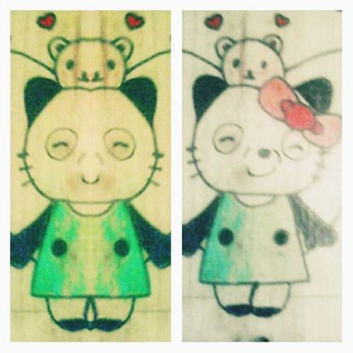 Art, Drawing, Creativity Drawing College ArtWork Artistic Artphoto Pandawabeach PANDA ♡♡ Panda!