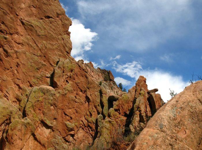17.62° Garden Of The Gods Colorado Nature Rocks Sky