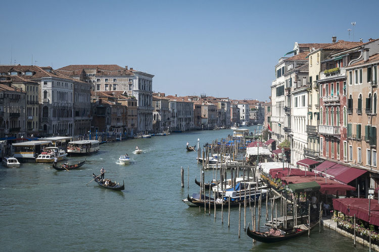 Grand Canal Venice Historical Building Travel Venice, Italy Architecture Boat Canals And Waterways City Gondola Gondola - Traditional Boat Mode Of Transport Moored Nautical Vessel Sky Transportation Travel Destination Travel Destinations Water Waterfront