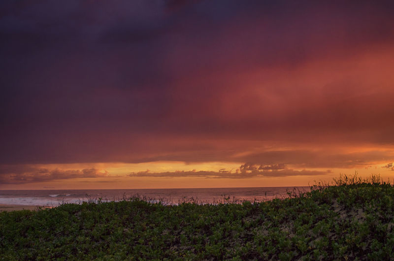 Good Friday 2017. Beach Beauty In Nature Mozambique Nature Ponta Malongane Sunrise Tranquil Scene