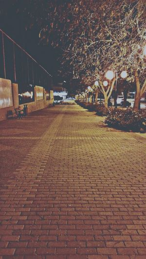 Walking 1am