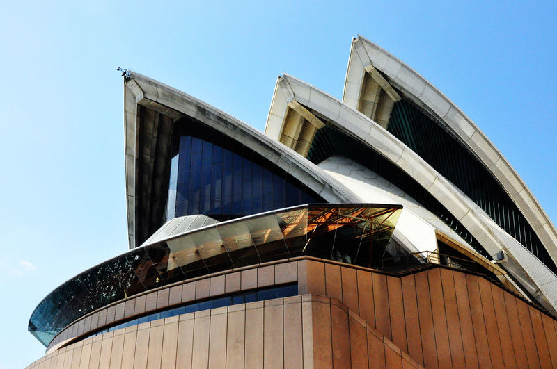 Architecture Australia Building Exterior Discover Your City From My Point Of View The Devil's In The Detail Clear Sky Day Edge EyeEmNewHere Low Angle View Modern No People Outdoors Sky Sydney Opera House Sydney, Australia EyeEm Gallery EyeEm Masterclass Neighborhood Map