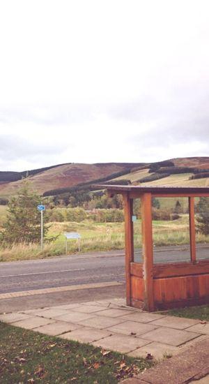 Deserted bus