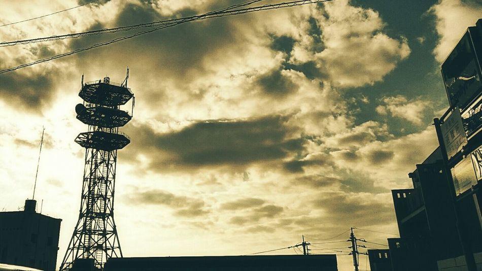 帰り道 Andrography Steel TowerLC Sky And Clouds Skyporn Afternoon Sky