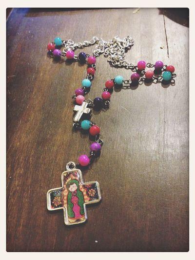 Virgen Cadena Pink Love ❤️