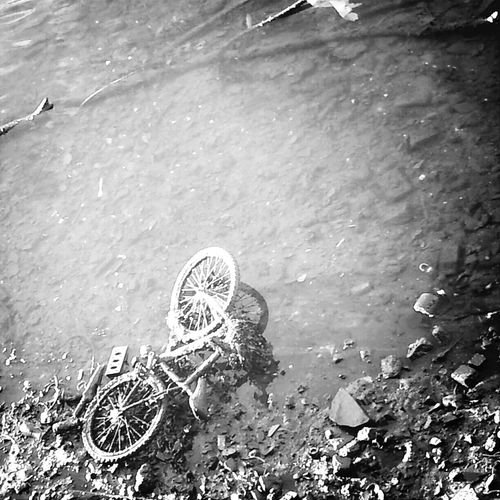 when the river shows what the water hides.Bicycle Capa Blackandwhite The River Liffey
