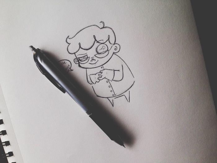 Creepy Art Sketch Cartoon Doodle Anime Cute Wip 90s DextersLaboratory