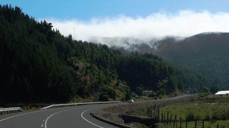 #Chile #highway #landscape #Nature  #Toltén #travel Landscape_photography Nature Photography Travel Photography