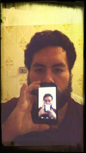 Selfie Mirror Portrait