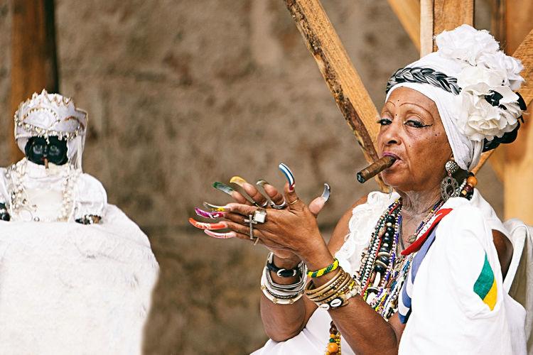 cuban santona