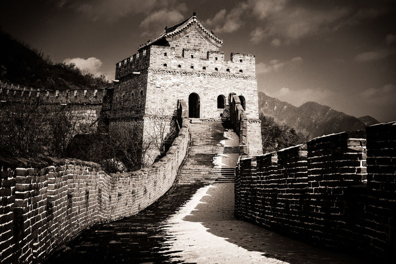 la tour de la muraille de Chine Travel Travel Photography Wall Of China Histoire Pekingese Reportage Shangaï Travel Destinations