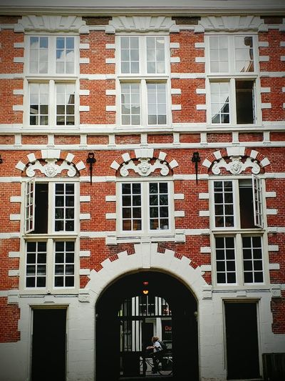 Architecture Built Structure Window Building Exterior Arch Red Arched Outdoors amsterdam First Eyeem Photo