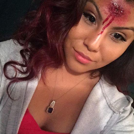 Halloween Makeup Taken By IPad Air 2