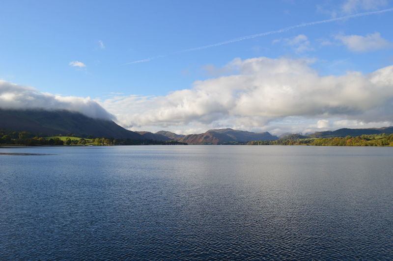 Beauty In Nature Cloud Cloud - Sky Cloudy Day Idyllic Lake Mountain Mountain Range Nature Non-urban Scene Outdoors Scenics Sky Tranquil Scene Tranquility English Countryside Lake District Ullswater Natural Beauty Lakeshore Cumbria