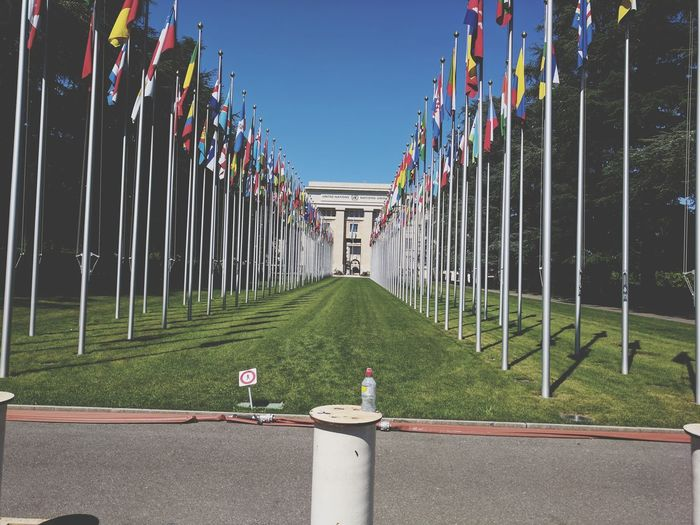 Where countries meet..  un, geneva switzerland