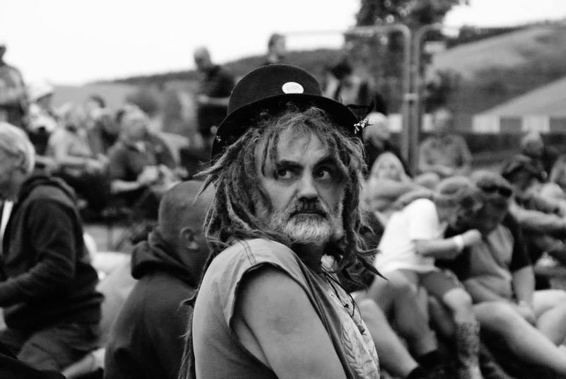 An eye catching guy at the Farmer Phil's music festival in Shropshire last weekend. First Eyeem Photo