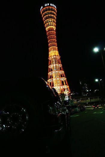 🗼 × 🚙 Tower Travel Night