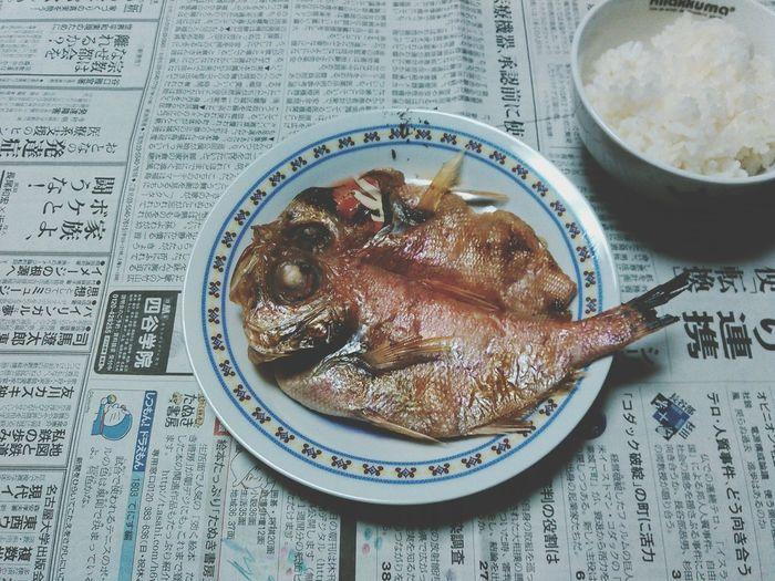 夜の鯛 鯛 夜ご飯 Japan