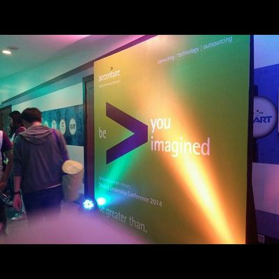 We're now here. AccentureSLC2014
