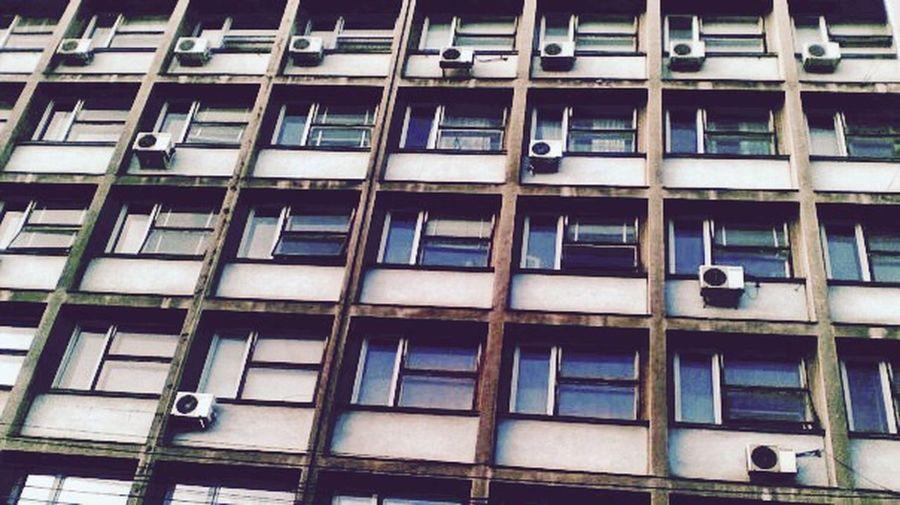 (C) Alexander Eger Bucharest Klimaanlage Architectural Detail ArchiTexture Pattern, Texture, Shape And Form