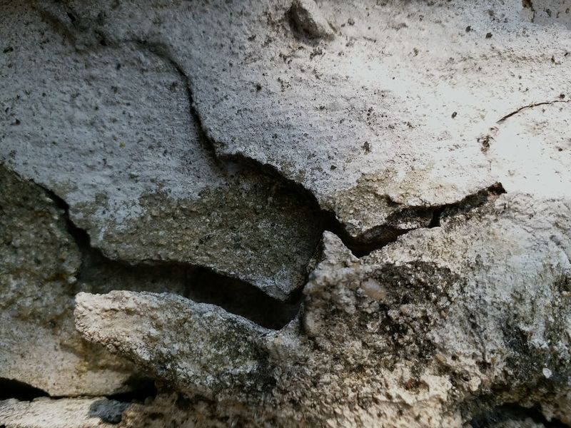 Concrete Concrete Wall Rupture Textured  Day Full Frame Outdoors No People Backgrounds Close-up