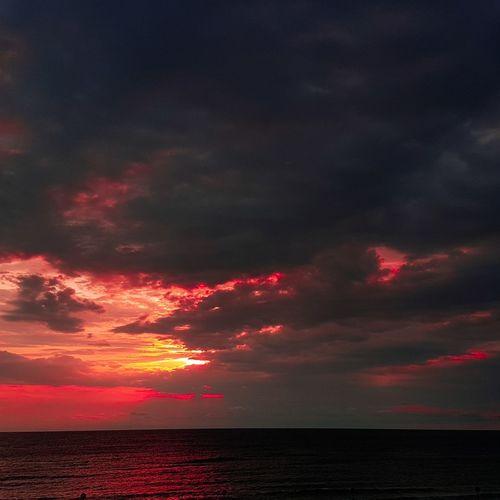 Sea Red Sunset