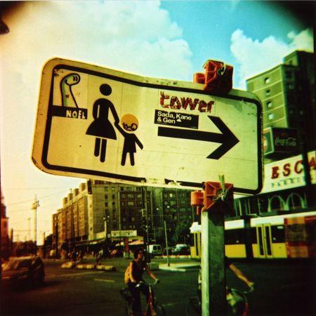 Berlin Streetscene, Diana toycamera, Agfa RSXII
