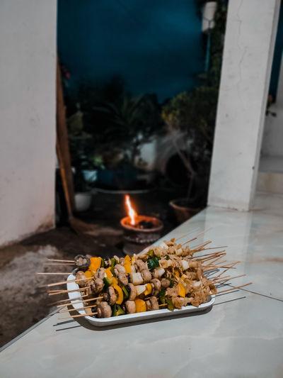 Satay vegetarian