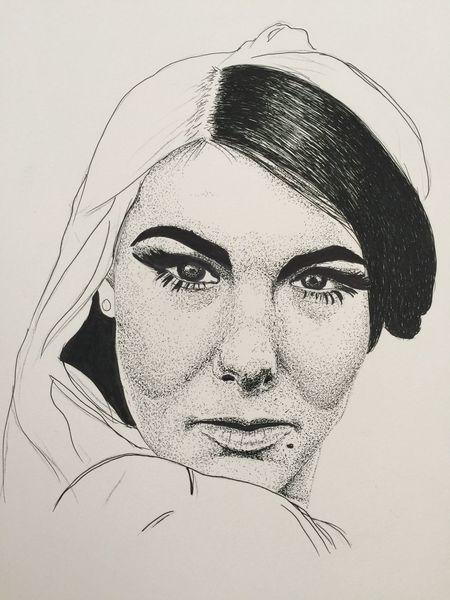 Work In Progress is singer Elize Ryd (Amaranthe) drawn in fineliner pens. Blackandwhite Myartwork Art #illustration #drawing #draw #tagsforlikes #picture #photography #artist #sketch #sketchbook #paper #pen #pencil #artsy #in MyArt ArtWork Drawing Pen And Ink Fanart Portrait Art