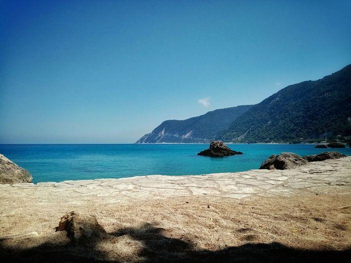 Lefkada island,