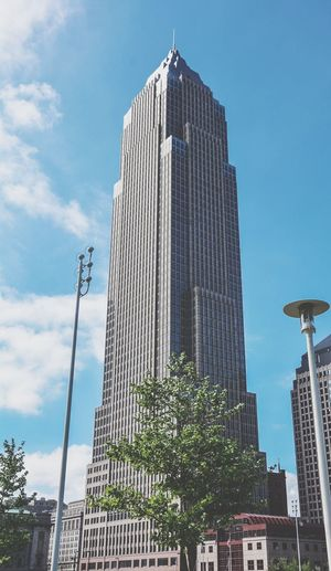 Key Bank Building in Cleveland Believeland Cleveland Ohio Key Bank Architecture Structure Lebron James