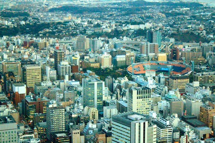 浜スタ♡ Enjoying Life 手ぶれが止まらない Landmark 横浜 Yokohama-shi Photography Canon Japan 横浜スタジアム 横浜公園