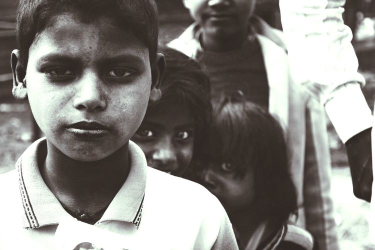 Expressions... Portrait People Close-up Expression City Outdoors Expressions Of Children Expressions The Street Photographer - 2017 EyeEm Awards Streetphotography Streetphotography_bw Streetportrait India Indianstories Delhi Connected By Travel EyeEm Ready
