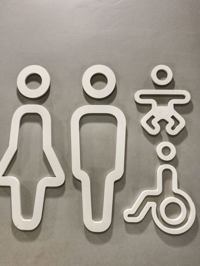 No People Day Symbol Symbol Of My City Toilet Time🚽 Toilette Art