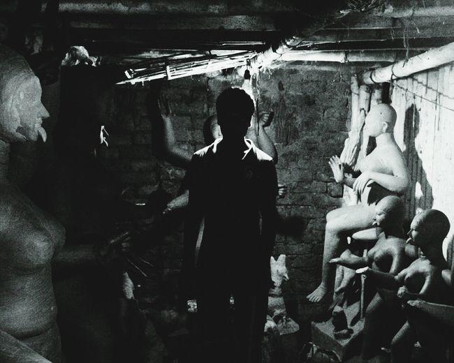 Nikunjrathod Kolkata Durgapuja Collected Community The Human Condition OpenEdit Light And Shadow Open Edit Creative Light And Shadow Silhouette