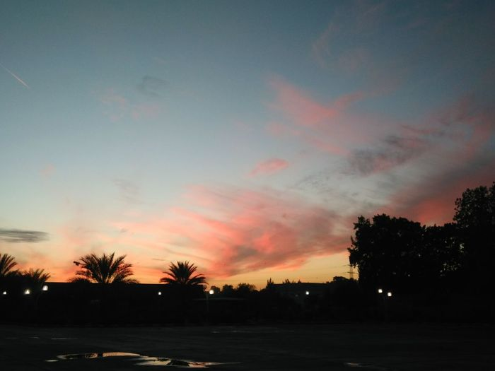 Usthb Colors Sunset Sky Nature Beutiful  Taking Photos Algiers Algeria.