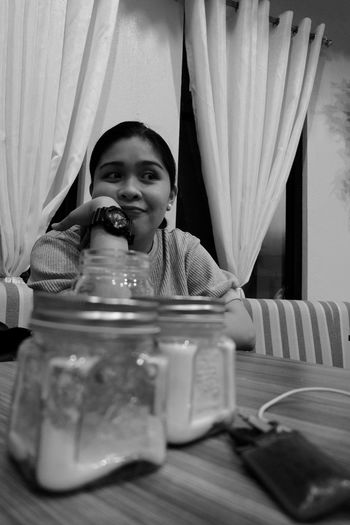 classic Blackandwhite Fujifilm X-A3 Childhood Child One Person Smiling Girls Offspring Lifestyles Portrait Women Females