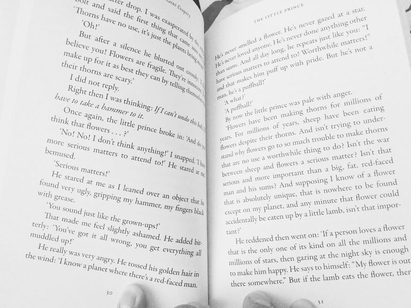 The Little Prince Fiction Story Book Black And White English Foriegn Prince  Short Story Global Eyeem Book